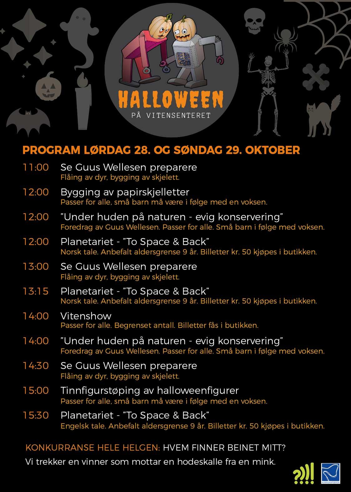 Halloween-program