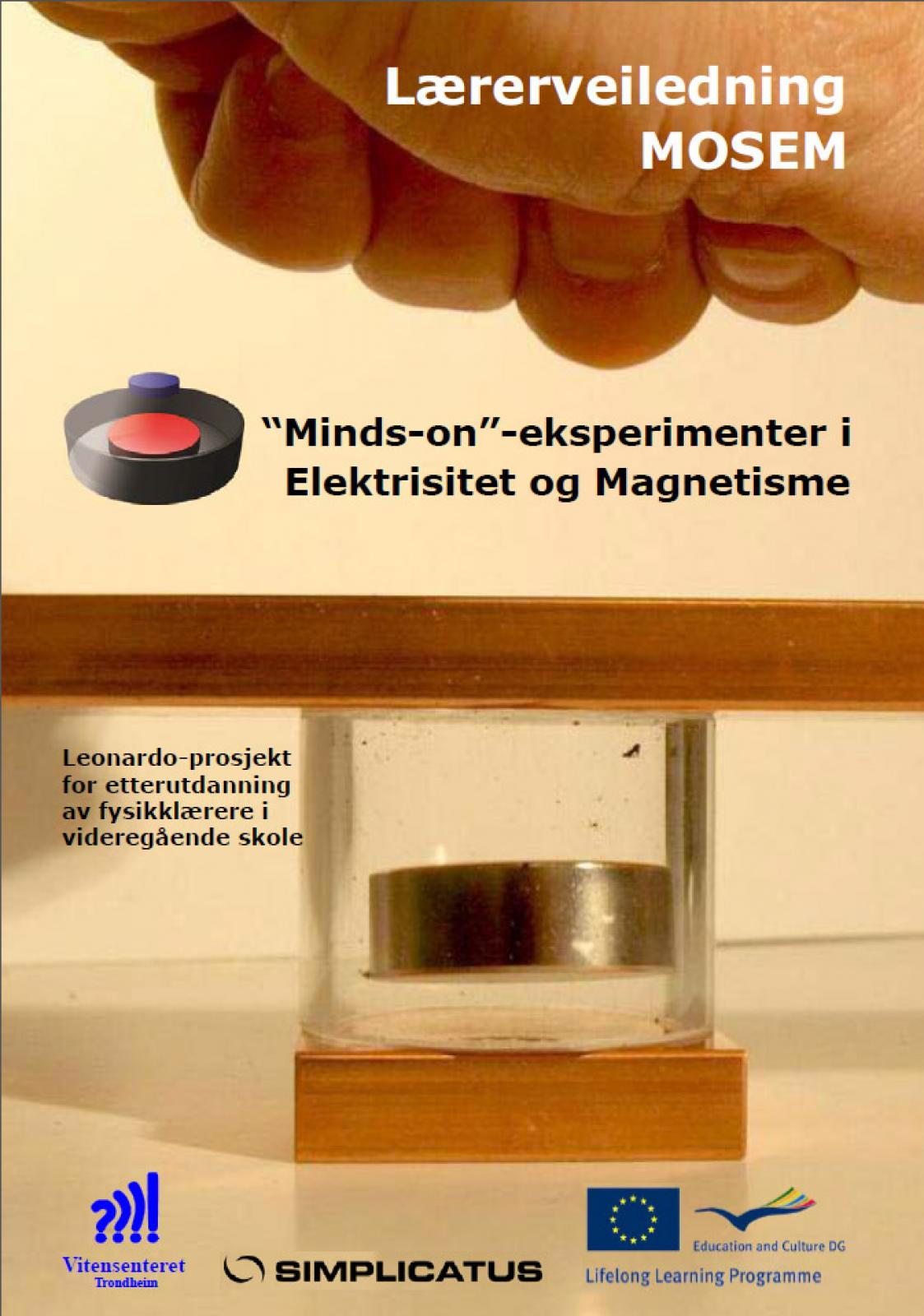 Minds-on eksperimenter i Elektrisitet og Magnetisme forside