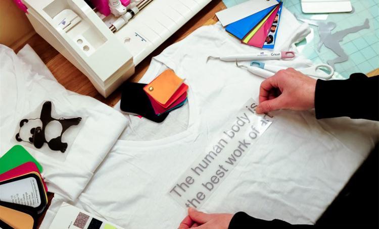 Tekstildekor-illustrasjon